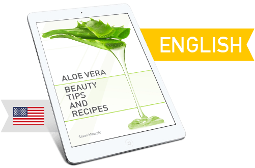 Seven Minerals Aloe Vera E-book - English